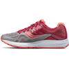 saucony Ride 10 Running Shoes Women Gray/Coral